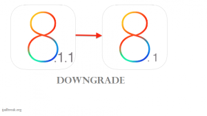Downgrade iOS 8.1.1 to iOS 8.1