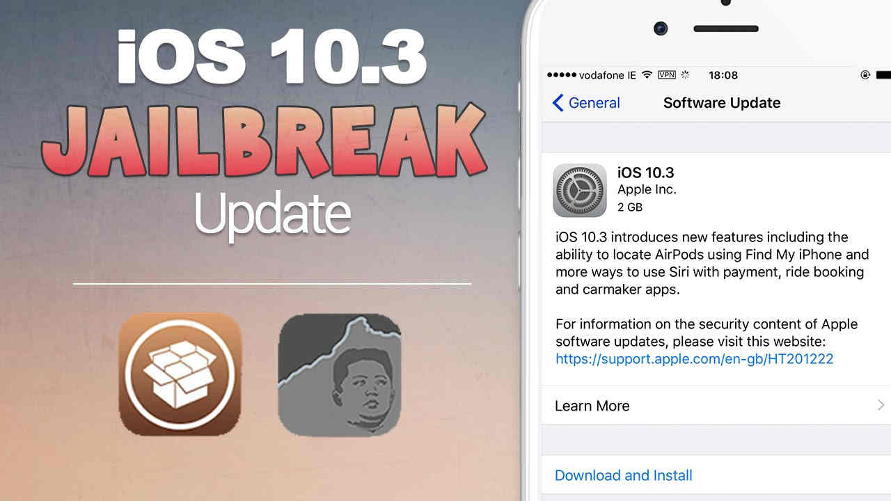 iOS 10.3.2 Jailbreak Update
